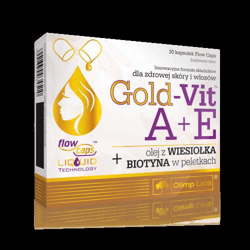 OLIMP Gold-Vit A + E with evening primrose and biotin x 30 capsules