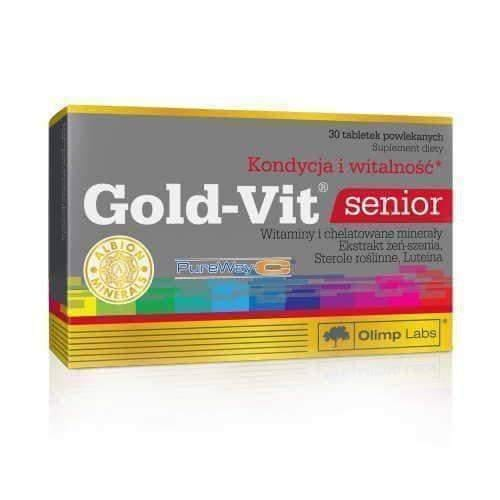 OLIMP Gold-Vit Senior x 30 tablets Fatigue, decrease in vitality and deterioration of the body