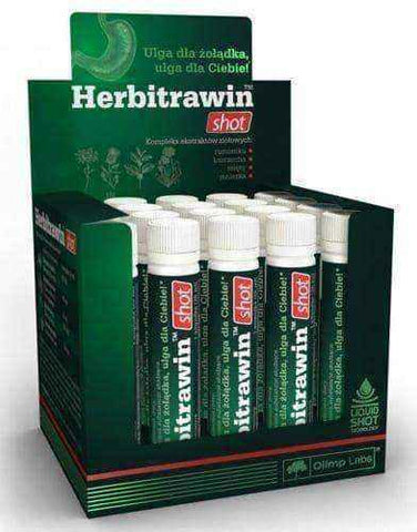 OLIMP Herbitrawin Shot x 1 ampoule 25ml UK