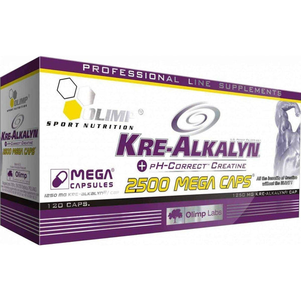 OLIMP KRE-ALKALYN 2500 MEGA CAPS BUFFERED CREATINE MONOHYDRATE 120 CAPSULES