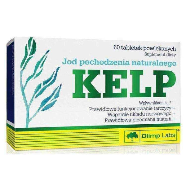 OLIMP Kelp x 60 tablets, kelp supplements.