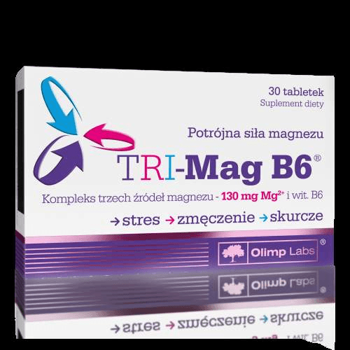 OLIMP TRI-Mag B6 x 30 tablets magnesium and vitamin B6