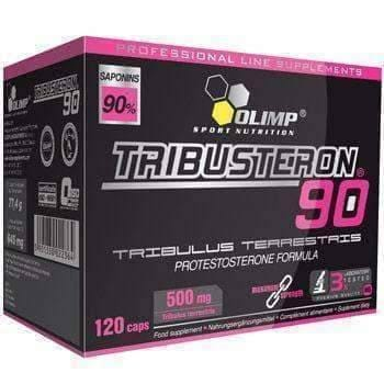 OLIMP TRIBUSTERON 90 x 120 capsules anabolic acting strengthening and stimulating