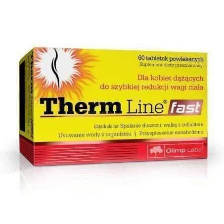 OLIMP Therm Line Fast x 60 tablets promotes rapid weight loss