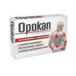 OPOKAN 7,5 mg - 20 tabl. joint and muscle pain rheumatism. treatment of pain, leg pain