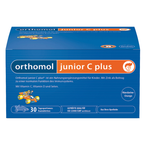 ORTHOMOL IMMUNE FOR CHILDREN, ORTHOMOL IMMUNE JUNIOR.