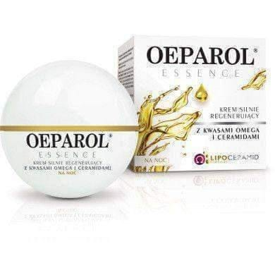 Oeparol ESSENCE strongly regenerating cream with omega acids and ceramides for the night 50ml