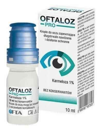 Oftaloz Pro eye drops 10ml