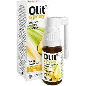 Olit spray for mouth and throat 20ml