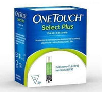 OneTouch Select Plus test strips x 50 pcs.
