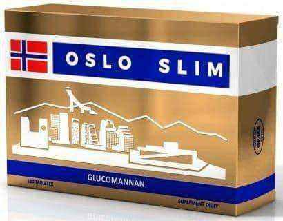 Oslo Slim x 180 tablets