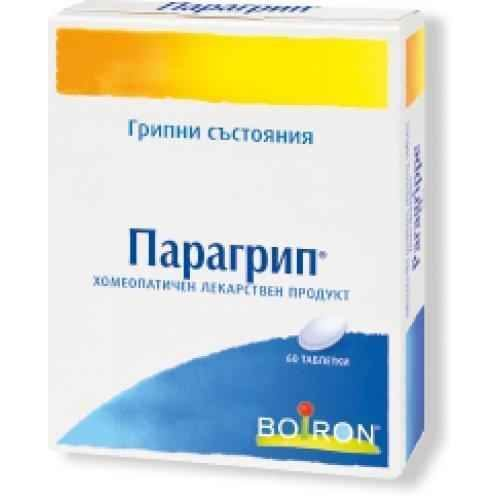 PARAGRIP for cold and flu 60 tablets, PARAGRIP.