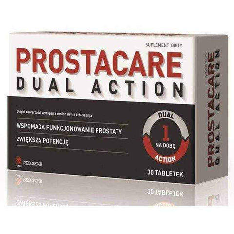 PROSTACARE Dual Action x 30 tablets
