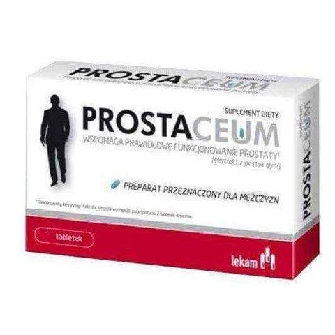 PROSTACEUM x 60 tablets, low testosterone symptoms UK