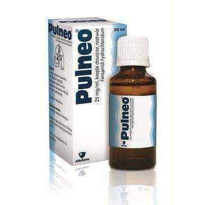 PULNEO 25mg / ml drops 15ml 2 years+ chronic bronchitis treatment - ELIVERA UK, England, Britain, Review, Buy