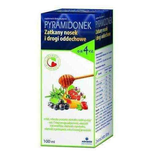 PYRAMIDONEK CLOGGED NOSEK AND AIRWAY Liquid 100ml 4+.
