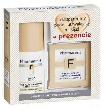 Pharmaceris F Fluid Intensive coverage kit 01 + transparent powder 6g UK