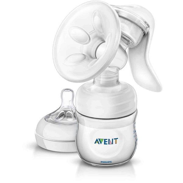 Philips AVENT Manual breast pump Natural 330/20 with a bottle of 125ml