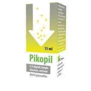 Pikopil 7.5mg/ ml drops 15ml, sodium picosulfate