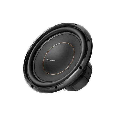 Pioneer ts d12d4 shallow mount subwoofer | dual voice coil