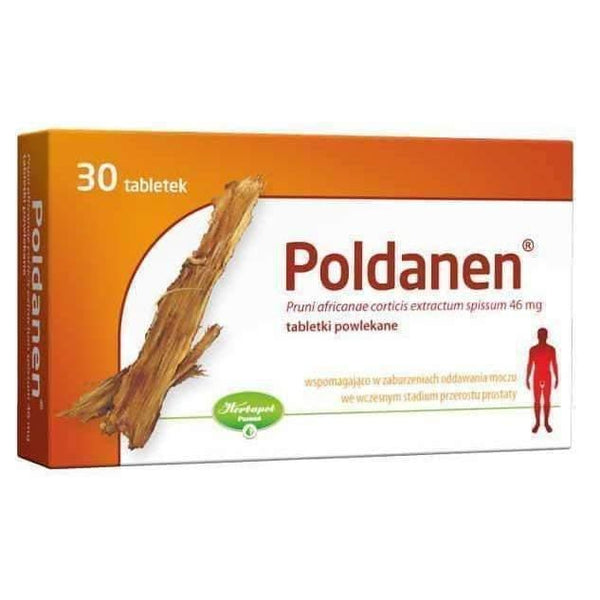 Pygeum Africanum | Poldanen 40mg × 30 pills UK