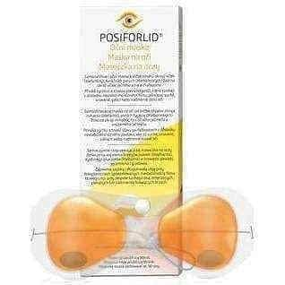 Posiforlid Eye mask x 1 piece.