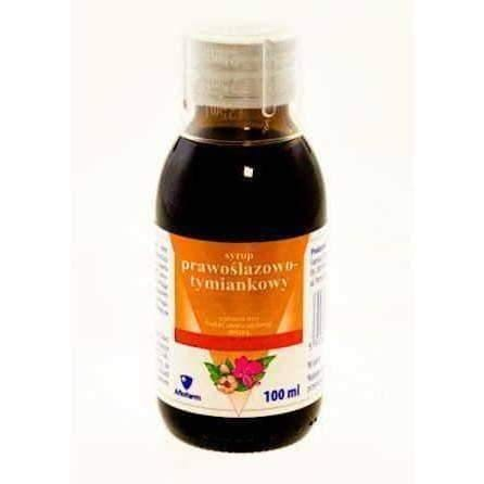 Prawoślazowo-thyme syrup 100ml children over 3 years supporting the process of coughing UK
