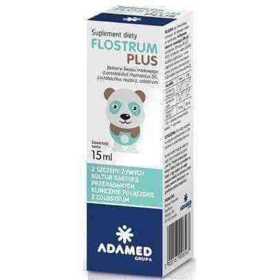 Probiotic drops | Flostrum Plus drops 15ml UK