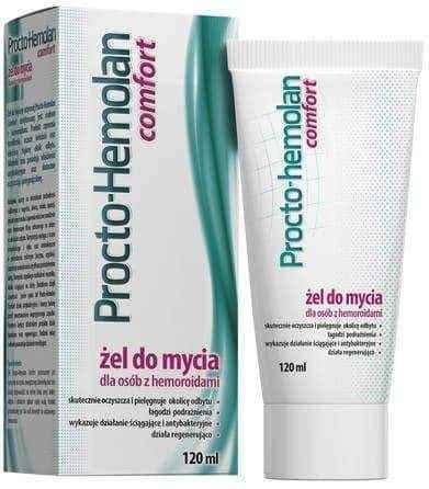 !Procto-HEMOLAN Comfort Cleansing Gel for people with hemorrhoids 120ml, hemroid, hemroids UK