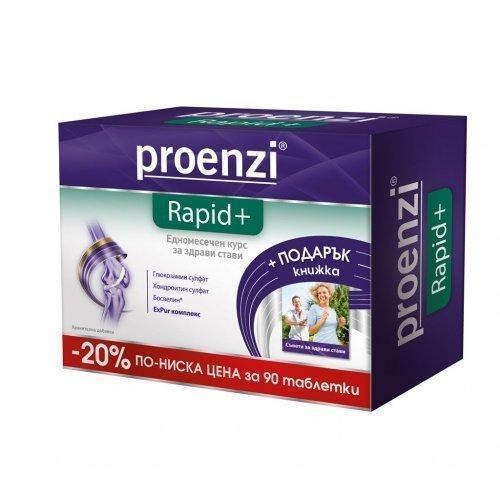 Proenzi Rapid Plus 90 tablets - 20% lower price and GIFT book UK