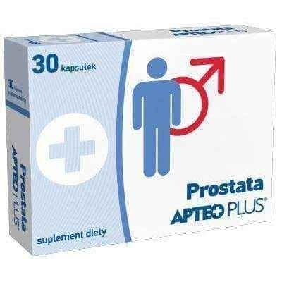 Prostate APTEO PLUS x 30 capsules, linseed oil UK