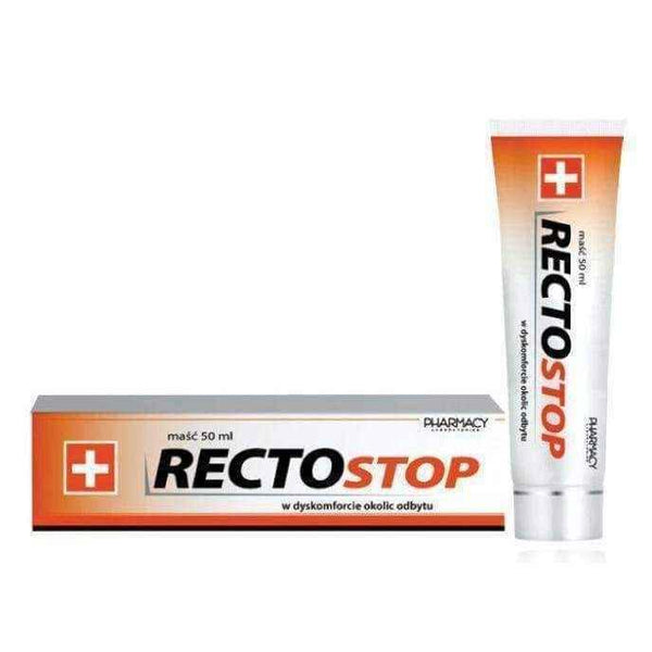RECTOSTOP ointment 50ml, pruritus ani, anus itchy, itchy bottom, itchy bum