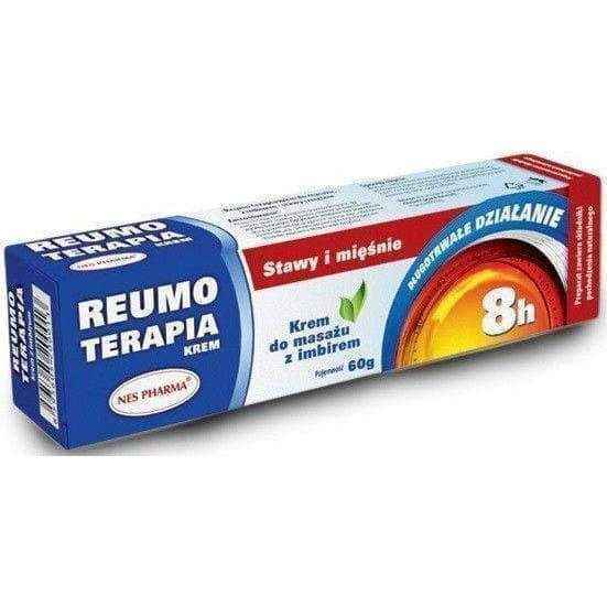 REUMO THERAPY cream with ginger 60g back muscle pain relief, leg pain, painful legs