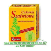 REUTTER Candy Sage with honey and Vitamin C 50g.