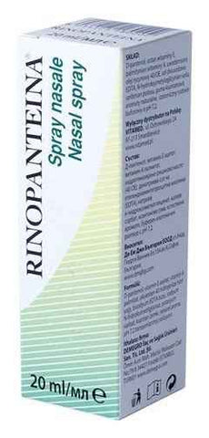 RINOPANTEINA Nasal Spray nasal decongestan 20ml UK