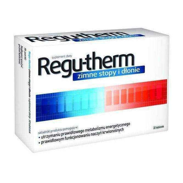 RULES-THERM cold hands and feet x 30 tablets, hands and feet always cold