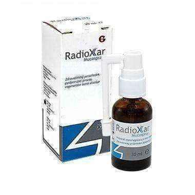 Radioxar Mucospray 30ml oral liquid gel, oral mucosa