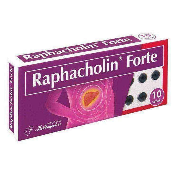 Raphacholin Forte x 10 tablets