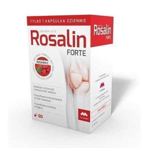 Rosalin Forte x 60 capsules correct functioning of joints.