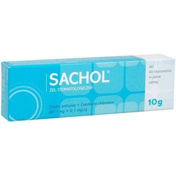 SACHOL dental gel 10g gum disease UK