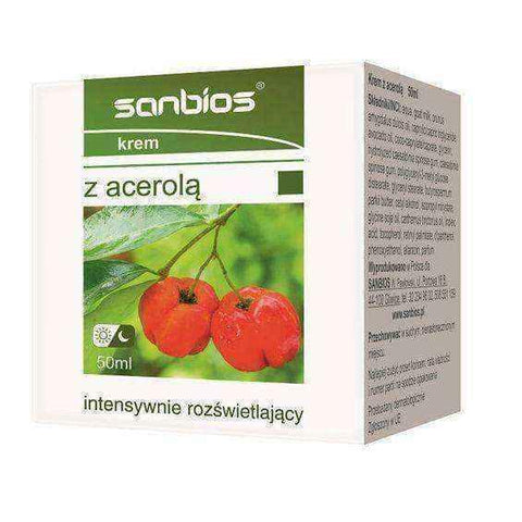 SANBIOS cream with Acerola intensely illuminating 50ml