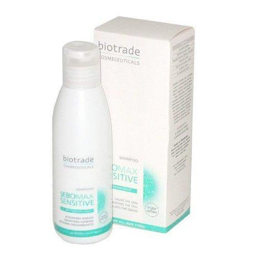 SEBOMAX SENSITIVE SHAMPOO for sensitive scalp 125 ml., SEBOMAX SENSITIVE SHAMPOO.