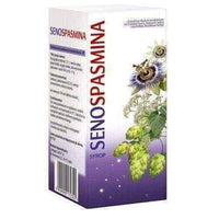 SENOSPASMINA syrup 150g (119ml) 6+ natural sleep aids.