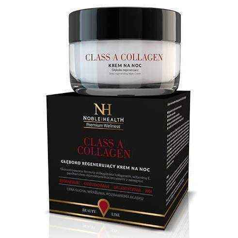 SET A Class Noble Health Collagen x 90 tablets + Beauty Line Class A Collagen Night Cream 50ml