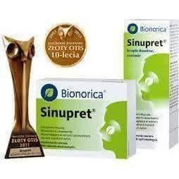 SINUPRET® Bionorica® N50 Sinus congestation with no side effects UK stock Adults