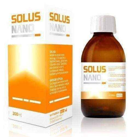 SOLUS NANO solution 200ml, dry mouth treatment