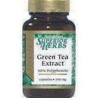 SWANSON Green Tea Extract x 60 Capsules.