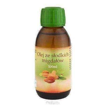 SWEET ALMOND OIL 100ml, prunus dulcis