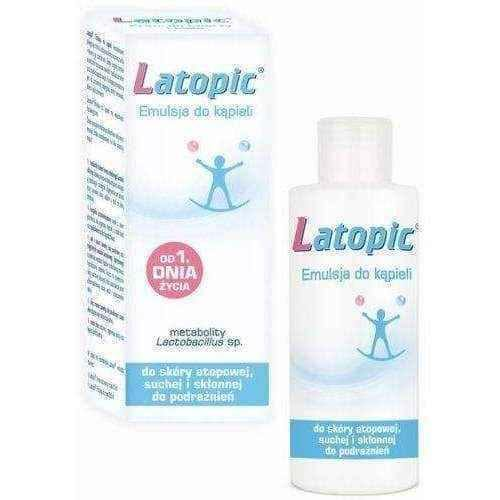 Skin itching, LATOPIC Emulsion for bath 400ml.