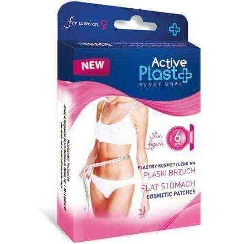 Slices on a flat stomach x 12 pieces, fat burner - ELIVERA UK, England, Britain, Review, Buy